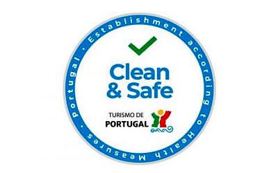 """Hygienesiegel """"Clean and Safe"""" für geprüfte Sicherheit"""